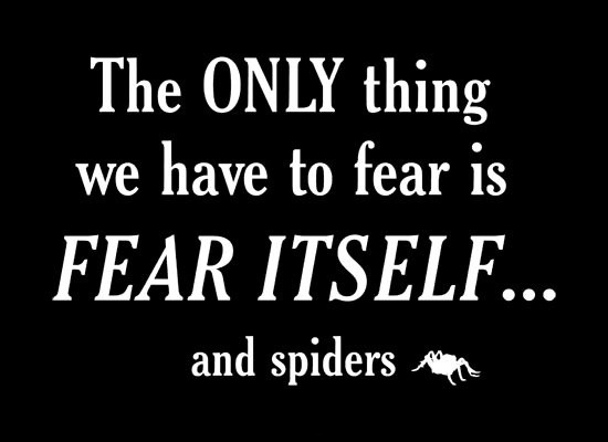 Scary Quote About Fear 1 Picture Quote #1