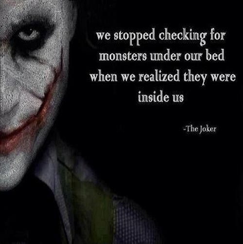 Deep Scary Quote 2 Picture Quote #1