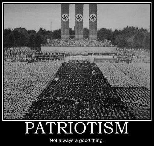 Anti Patriotism Quote 1 Picture Quote #1