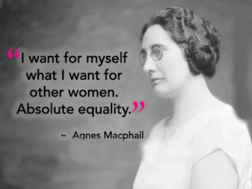Female Equality Quote 1 Picture Quote #1