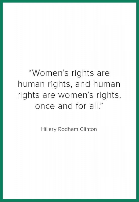 Hillary Clinton Equality Quote 3 Picture Quote #1