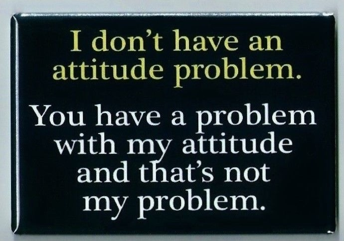 Bad Attitude Quotes Cool Bad Attitude Quote  Quote Number 607403  Picture Quotes
