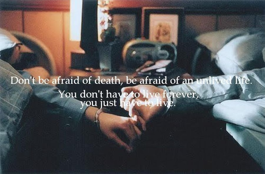 Life And Death Quote 1 Picture Quote #1