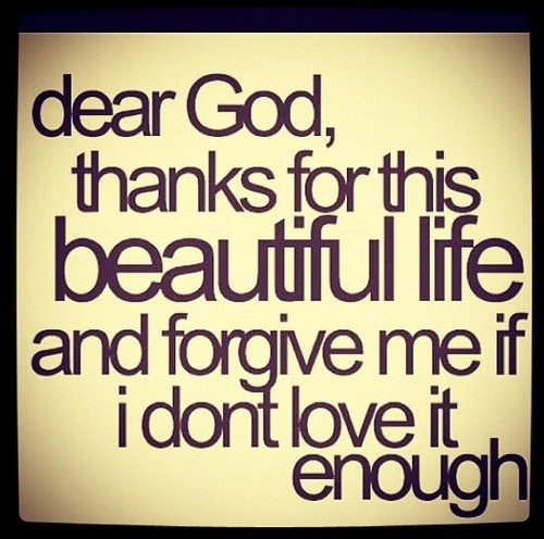Thank You God Quote 4 Picture Quote #1