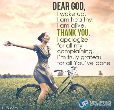 Thank You God Quote 5 Picture Quote #1