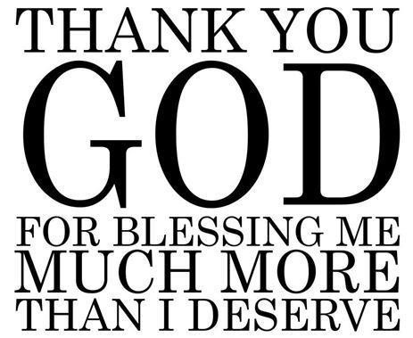 Thank You God Quote 7 Picture Quote #1