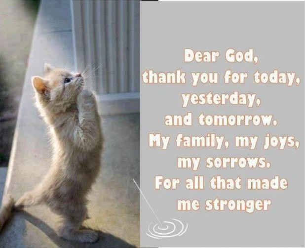 Thank You God Quote 11 Picture Quote #1