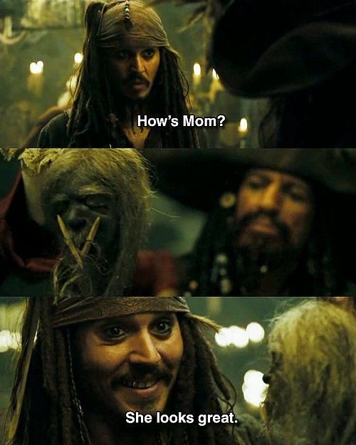 Pirates Of The Caribbean Quotes Magnificent Pirates Of The Caribbean Movie Quote  Quote Number 607731