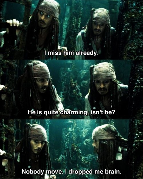 Pirates Of The Caribbean Funny Quote 1 Picture Quote #1
