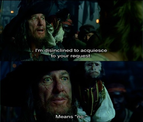 Pirates Of The Caribbean Movie Quote 12 Picture Quote #1