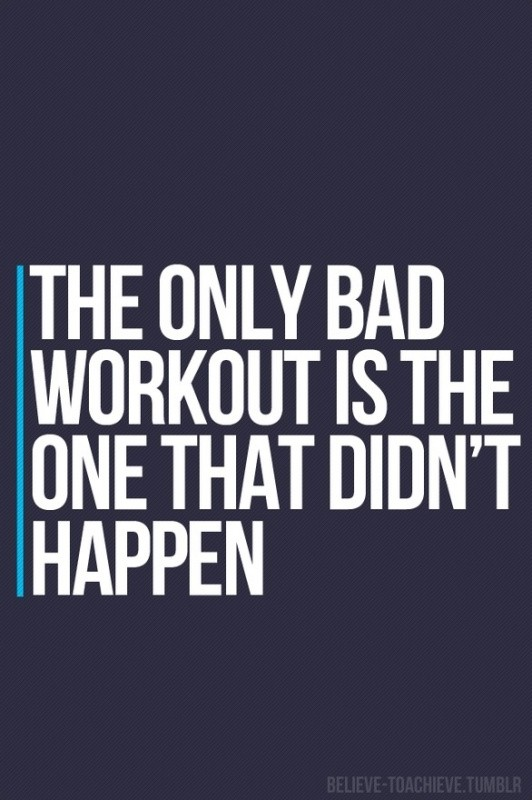 Work Out Quote 1 Picture Quote #1