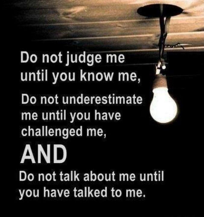 Judgement Quote 9 Picture Quote #1