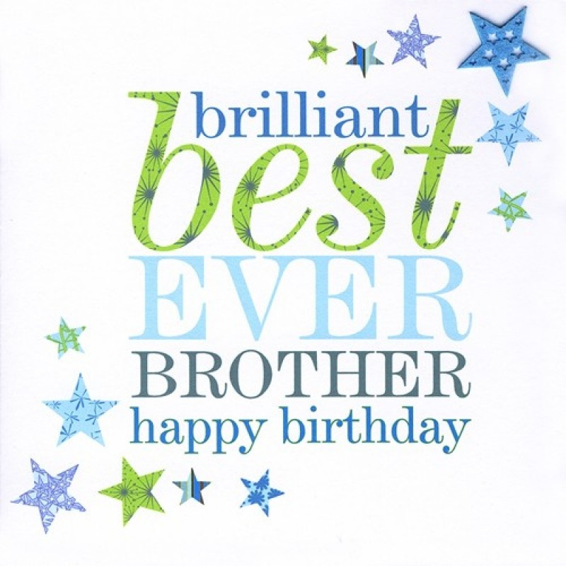 Birthday Quote For Brother 5 Picture Quote #1