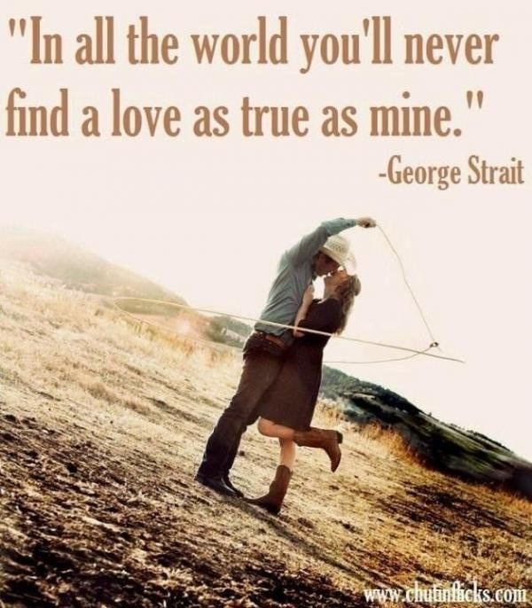 Country Love Song Quote 2 Picture Quote #1
