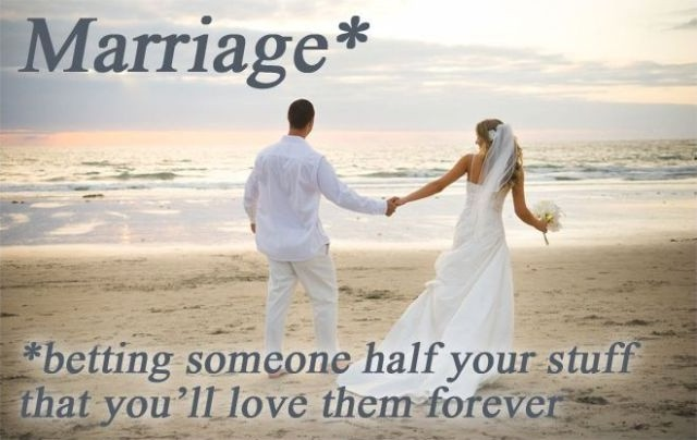 Funny Wedding Quote 5 Picture Quote #1