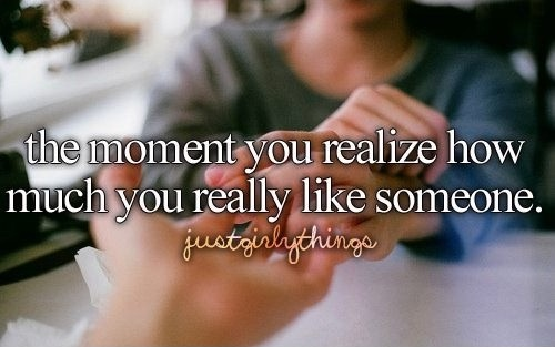 Liking Someone Quote 14 Picture Quote #1
