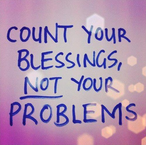 Counting Blessings Quote 1 Picture Quote #1