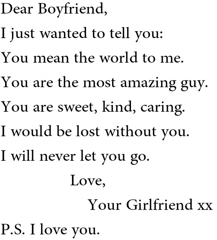 Love Quote For Boyfriend 1 Picture Quote #1