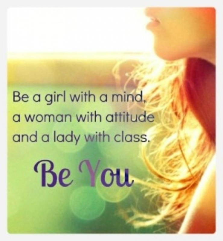 Girl With Attitude Quotes Captivating Attitude Quote For Girls  Quote Number 608268  Picture Quotes