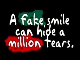 Fake Smile Quote 2 Picture Quote #1