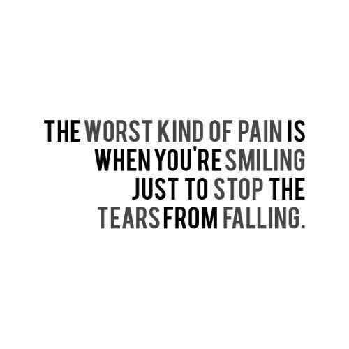 Depression Quote About Fake Smiles | Quote Number 608292 ...