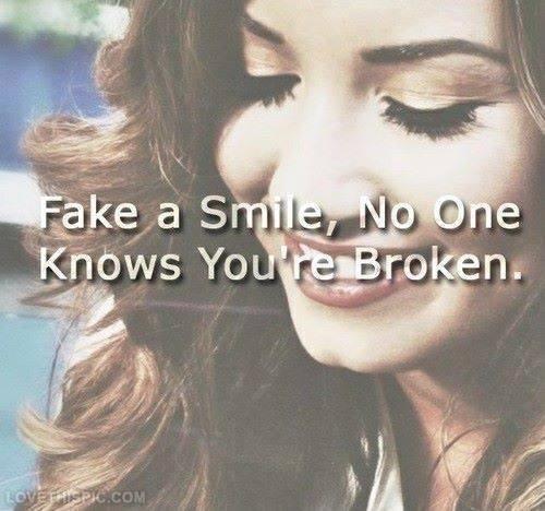 Fake Smile Quote 9 Picture Quote #1