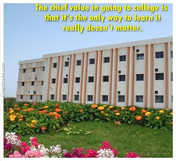 College Quote 1 Picture Quote #1