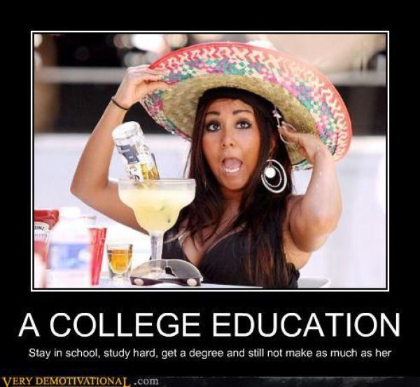 Funny College Quote 2 Picture Quote #1