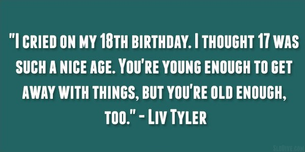 18th Birthday Quote 1 Picture Quote #1