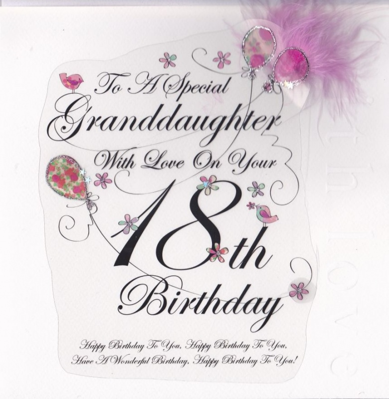 18th Birthday Quote For Granddaughter 1 Picture Quote #1