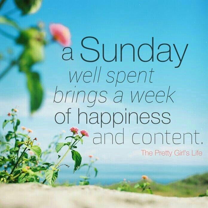 Happy Sunday Quote 3 Picture Quote #1
