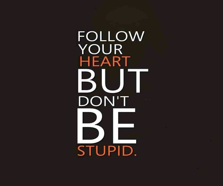 Follow Your Heart Quote Quote Number 608475 Picture Quotes