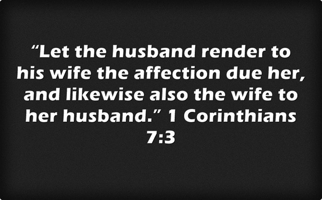 Husband And Wife Bible Quote 1 Picture Quote #1