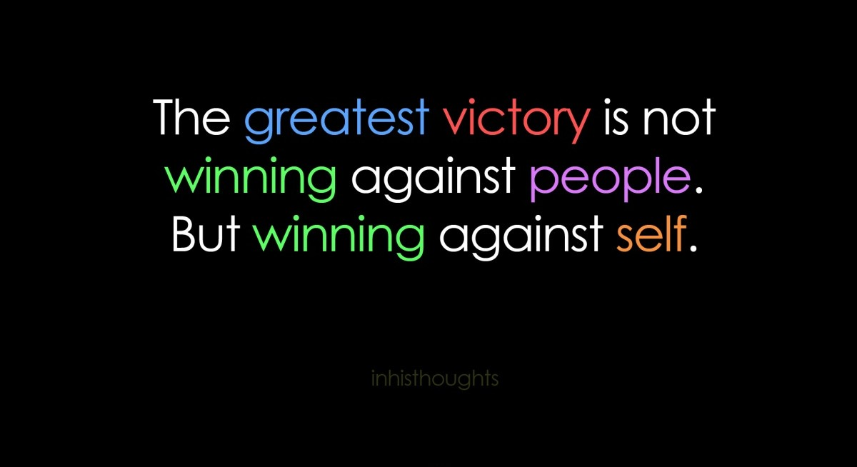 victory quote quote number 608564 picture quotes