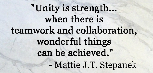 Team Unity Quote 1 Picture Quote #1