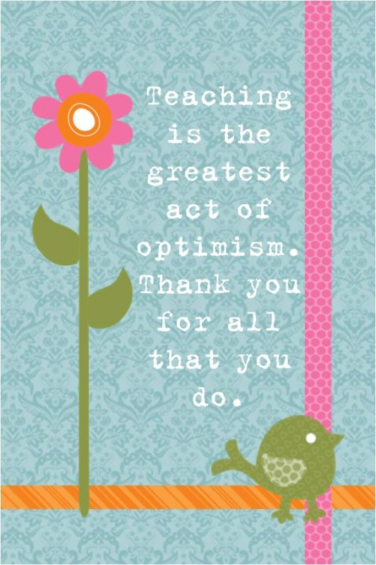 Teacher Appreciation Quote 12 Picture Quote #1
