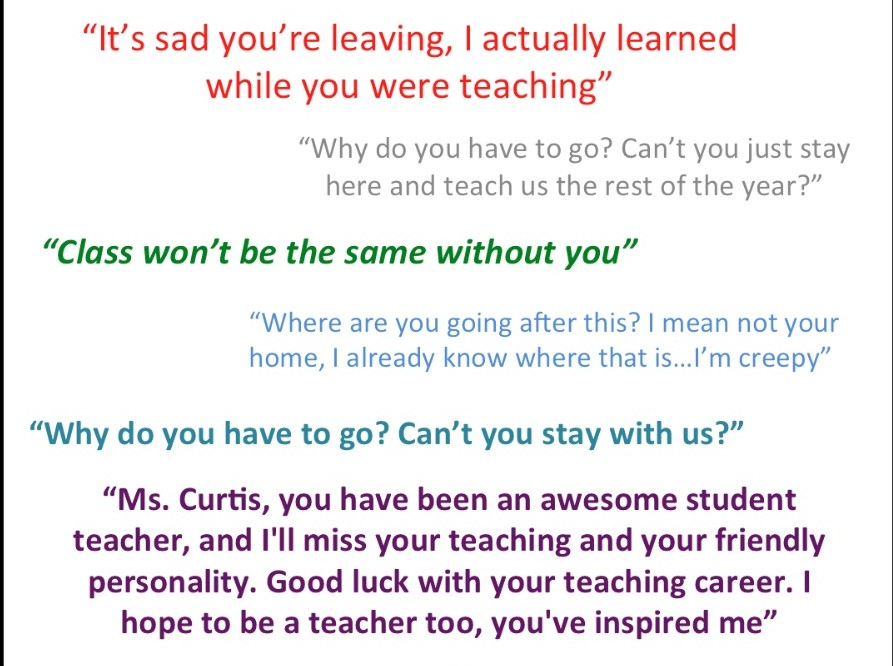 Teacher Appreciation Quote From Students | Quote Number