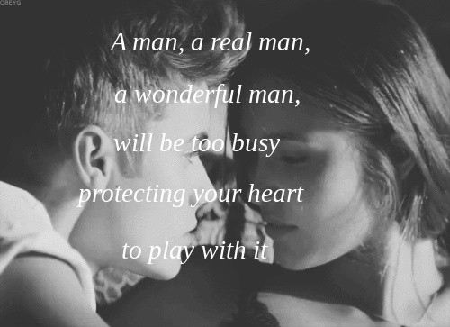 Real Man Quote 3 Picture Quote #1
