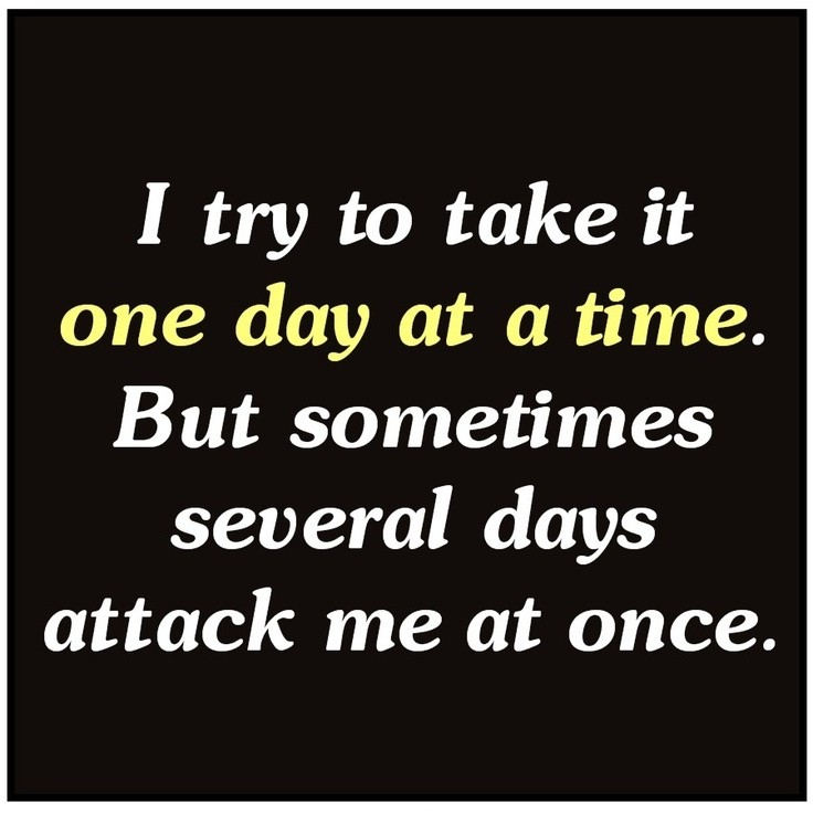 One Day At A Time Quote 3 Picture Quote #1