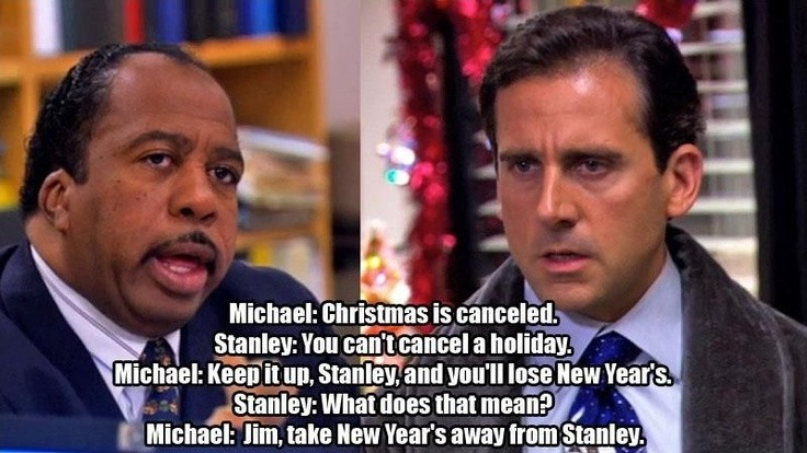 stanley the office quote 3 picture quote 1 - The Office Christmas Quotes