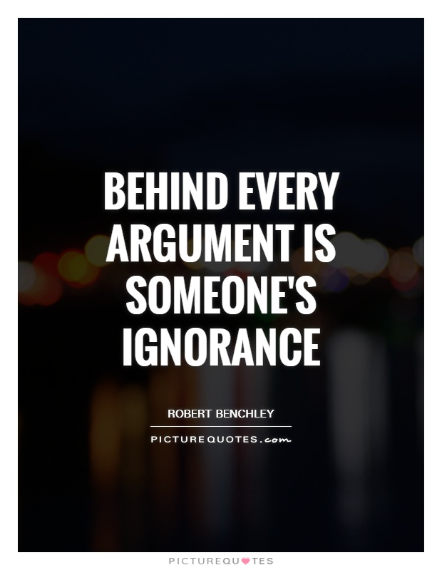 Ignorance Quotes | Ignorance Sayings | Ignorance Picture ...