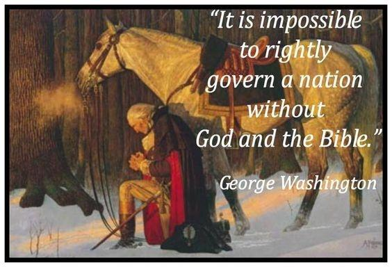 It is impossible to rightly govern a nation without God and the Bible Picture Quote #2
