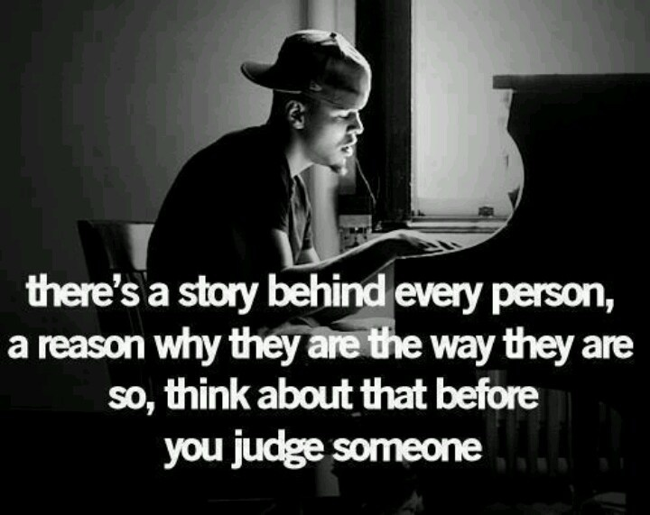No Judging Quote 1 Picture Quote #1