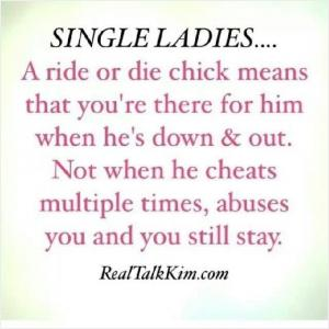 Ride Or Die Chick Quote | Quote Number 609025 | Picture Quotes Ride Or Die Chick