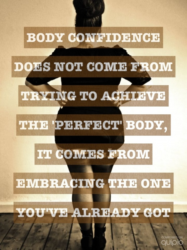 Positive Body Image Quote 1 Picture Quote #1