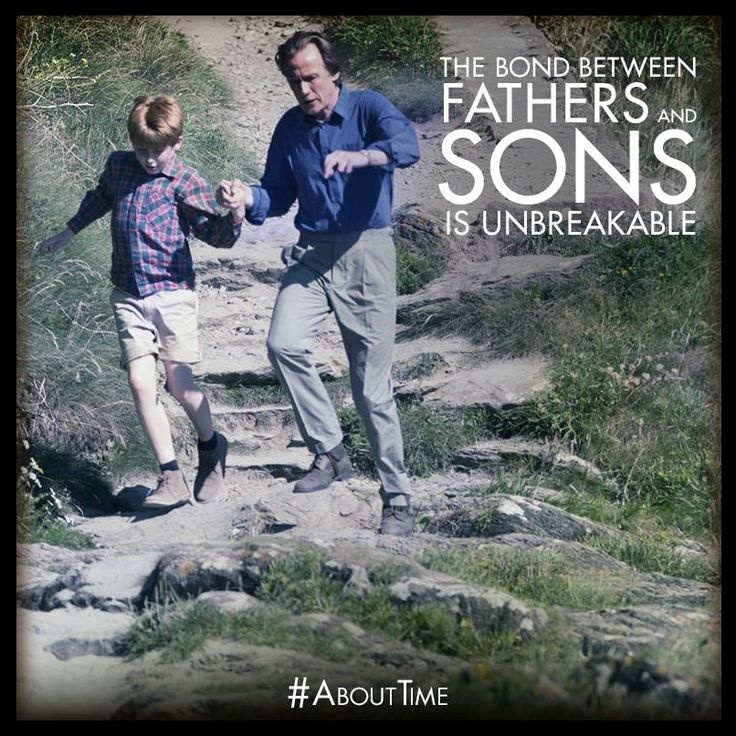 Bond Between Father And Son Quote 1 Picture Quote #1