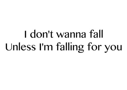 Falling For You Quote 1 Picture Quote #1