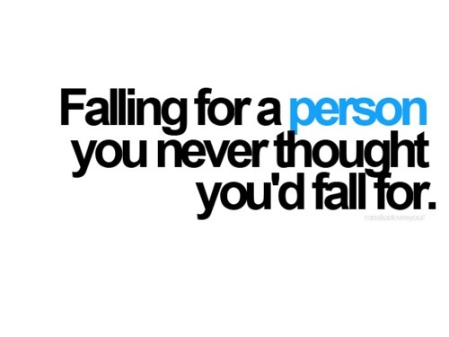 Falling For You Quote 4 Picture Quote #1