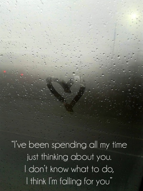I Think Im Falling For You Quote 2 Picture Quote #1