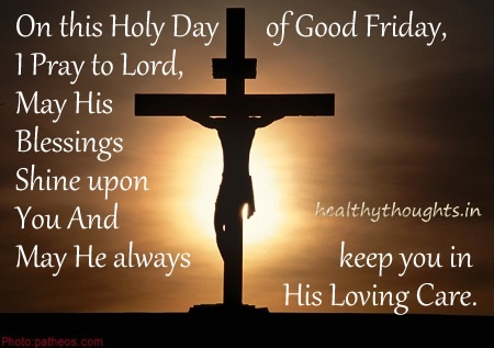 Good Friday Prayer Quote | Quote Number 609112 | Picture Quotes